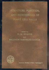 STRUCTURE, FUNCTION, AND BIOSYNTHESIS OF PLANT CELL WALLS: PROCEEDINGS OF  THE SEVENTH ANNUAL SYMPOSIUM IN BOTANY, JANUARY 12-14, 1984, UNIVERSITY OF  CALIFORNIA, RIVERSIDE