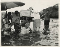 Beyond Mombasa (Original photograph of George Marshall, Freddie Young, and crew members on the set of the 1956 film)