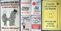 Collection of 6 Pro-Union Promotional Posters By Northland Poster Collective by (Union Posters) - 1989 - from Certain Books, ABAA (SKU: 20982)