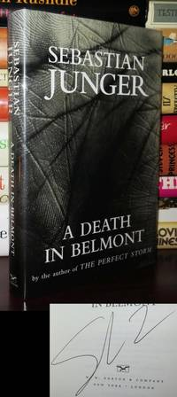 image of A DEATH IN BELMONT Signed 1st