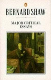 Major Critical Essays