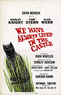 WE HAVE ALWAYS LIVED IN THE CASTLE (1966) Theatre window card