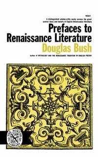 image of Prefaces to Renaissance Literature