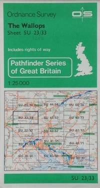 Pathfinder map sheet 1242: The Wallops by Ordnance Survey - Paperback - Scale 1:25,000 - 1980 - from Acanthophyllum Books and Biblio.com