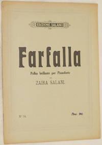 FARFALLA POLKA BRILLANTE PER PIANOFORTE