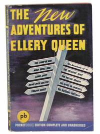 The New Adventures of Ellery Queen: The Lamp of God; The Adventure of The Treasure Hunt; The Adventure of The Hollow Dragon; The Adventure of The House of Darkness; The Adventure of The Bleeding Portrait; Man Bites Dog; Long Shot; Mind Over Matter; Trojan Horse (Pocket Book No. 134)