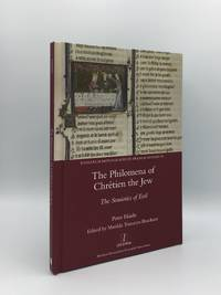 image of THE PHILOMENA OF CHRETIEN HE JEW The Semiotics of Evil (Research Monographs in French Studies)