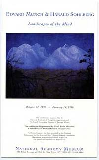Edvard Munch and Harald Solhberg: Landscapes of the Mind Exhibition Brochure 1995