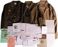 [Women][World War II][Wacs] A Wac's Uniforms, Notebooks and ALSs