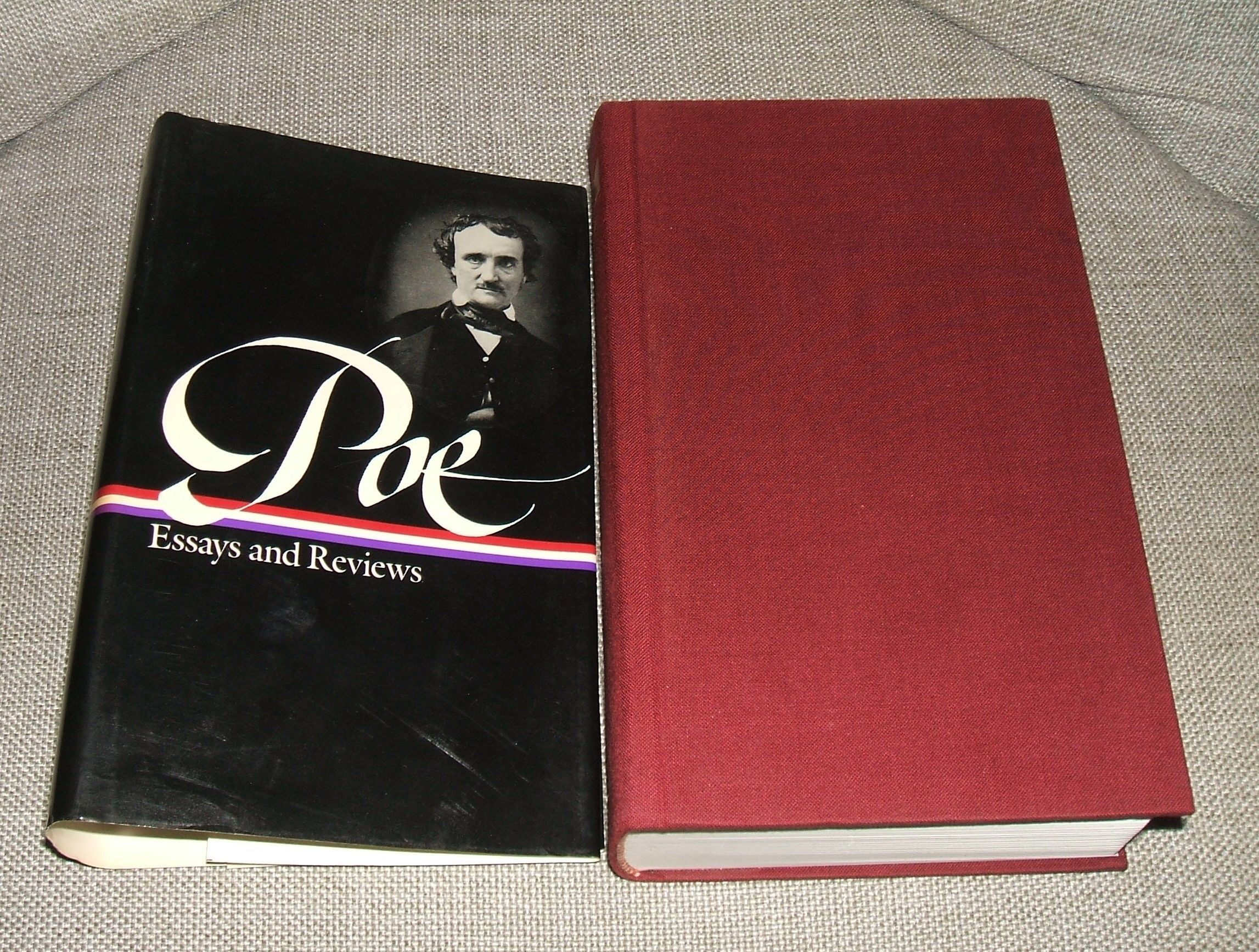 poe essays and reviews library of america
