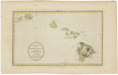 A New Chart of the Sandwich Islands,...