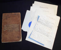 West Point Account Book and 6 documents relating to his Military Service