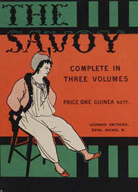 "Poster for ""The Savoy. Complete in three volumes. ""First Edition"