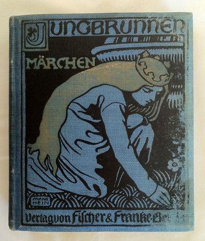 Berlin: Fischer und Franke, 1900. First Edition. Original blue cloth with cover design in black reli...