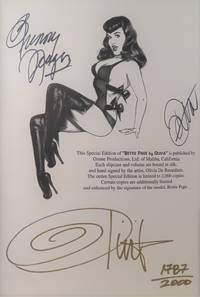 image of Bettie Page (SIGNED by Bunny Yeager, Dita von Teese, and Olivia)