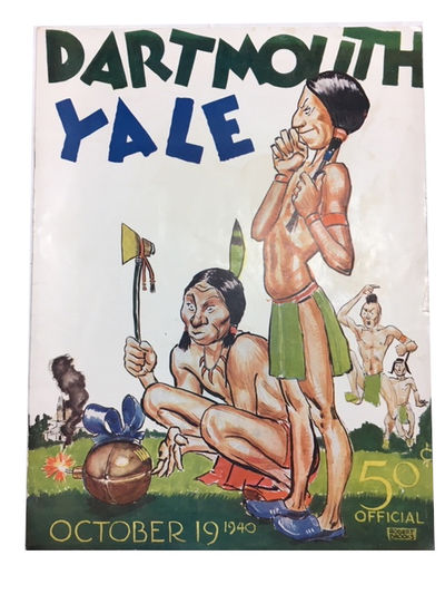 New Haven: Yale University Athletic Association, 1940. Paperback. Very Good. frontis, photos, 48p. S...