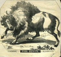 image of The Bison.  Woodblock advertising