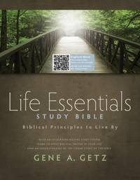 Life Essentials Study Bible, Hardcover Indexed: Biblical Principles to Live By