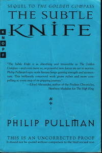image of THE SUBTLE KNIFE: His Dark Materials, Book Two.