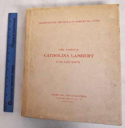 New York: American Art Galleries, 1916. VG Subscribers copy #4384/600 copies. Stiff wraps. Appx. 100...