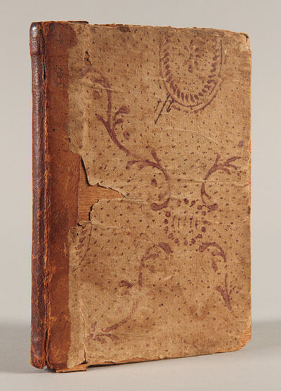 Rutland, Vt, 1799. 80pp. 12mo. Contemporary half sheep and hand-decorated paper over birch boards. M...