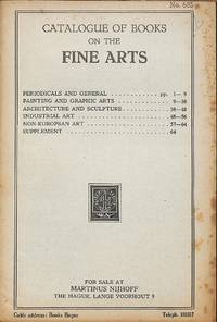 Catalogue 685/n.d.: Catalogue of Books on the Fine Arts.