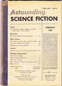 Astounding Science Fiction, February 1959 (Volume 62, Number 6)