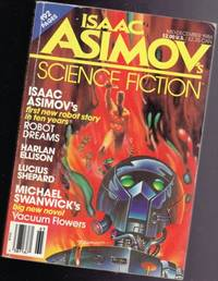 Isaac Asimov's Science Fiction - Mid - December 1986 - Robot Dreams, Laugh Track, Vacuum Flowers (part 1 of 3), Dancing It All Away at Nadoka, In the Abode of the Snows, Neptune's Reach, Blood on Glass, +
