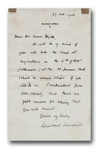 Signed Holograph Letter to Arthur Conan Doyle