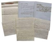 Original Manuscript Court Case Documents Regarding Jeffersonville Railroad Lawsuit.