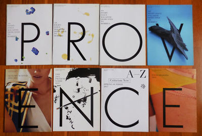 Nice: Provence, 2017. First edition. Paperback. Near Fine. Complete eight issue set of this marvelou...