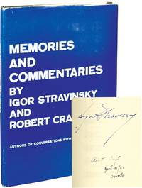 image of Memories and Commentaries (First Edition, signed by Stravinsky and Craft)