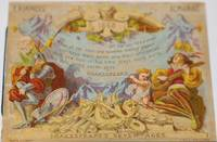 E. Rimmels 1868 Almanac.  Shakespeare's Seven Ages