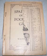 Spalding's Official Foot Ball (Football) Guide 1934