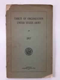 Tables Of Organization United States Army 1917