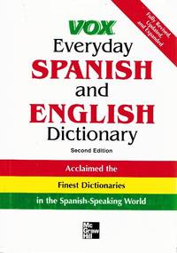image of VOX EVERYDAY SPANISH AND ENGLISH DICTIONARY