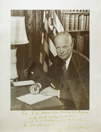 Portrait photograph, inscribed and signed as President to Lewis L. Strauss