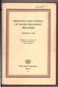 Operation And Control Of Water Treatment Processes