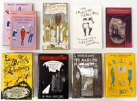 Nine books with covers designed by Edward Gorey