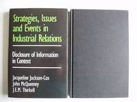 image of Strategies, Issues and Events in Industrial Relations  -  Disclosure of Information in Context