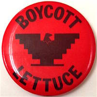 : , . 1.25 inch pin, red and black design with UFW eagle in the center, very good. Our source, origi...