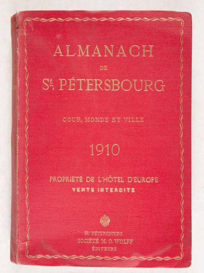 Almanach de St. Pétersbourg. Cour,...