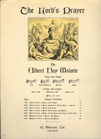 image of The Lord's Prayer : Voice and Organ Medium, in D Flat