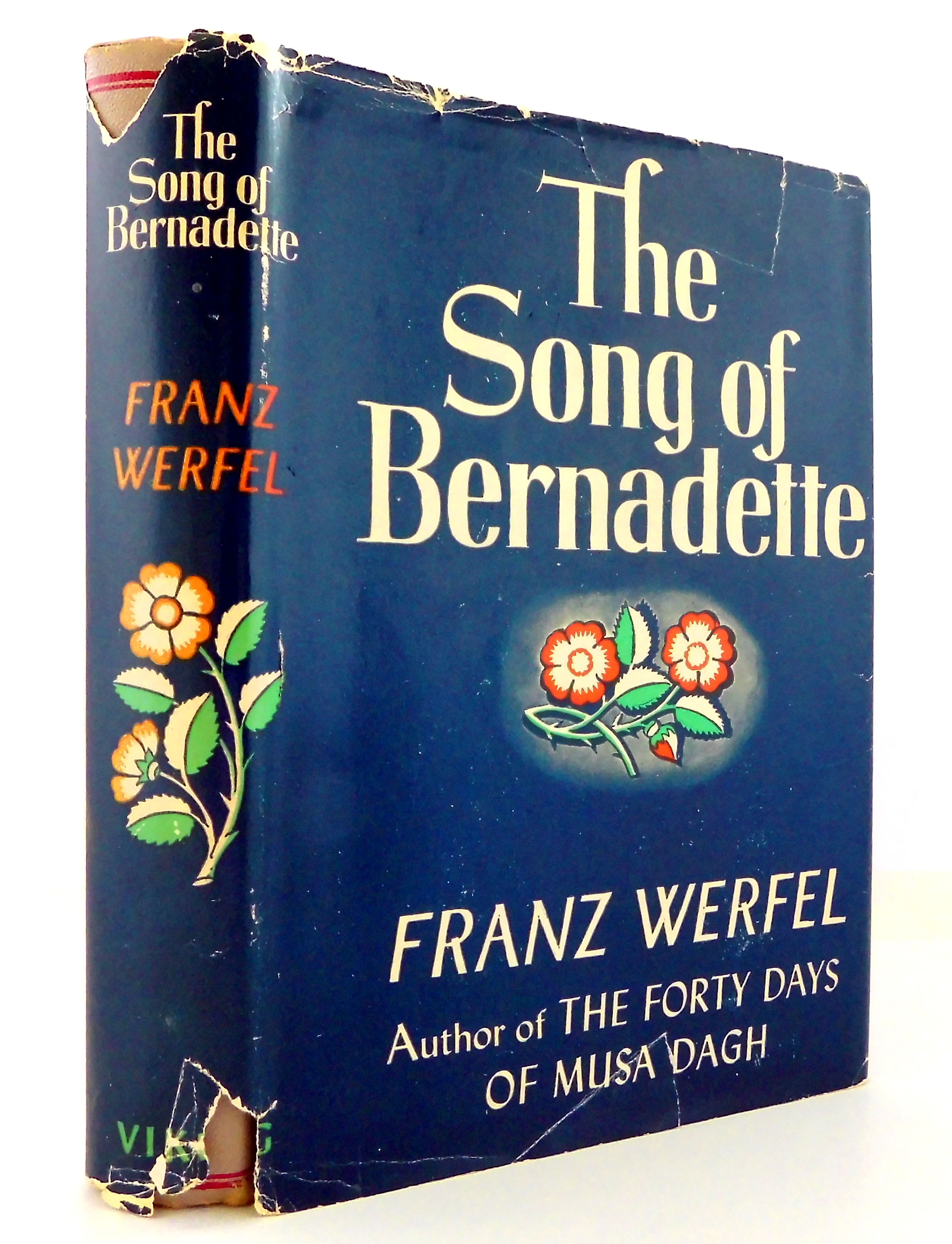 Image result for the song of bernadette book