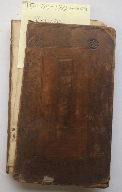 London: J. Pemberton, 1714. Hardcover. 12mo; G+; Hardcover; Rusty brown spine without text; Boards a...