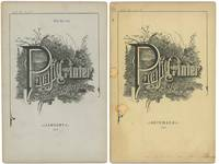 Pacific Printer, Stationer & Lithographer.  TWO ISSUES NOVEMBER 1886 and JANUARY 1887.