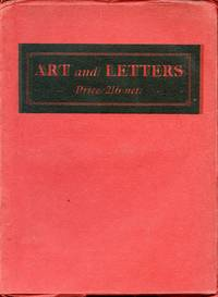 Art and Letters: Vol. III, No. 1, Winter 1920