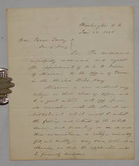 Letter to Secretary of the Navy to Appoint Dr. Dunn as Fleet Paymaster at the Mississippi River Station