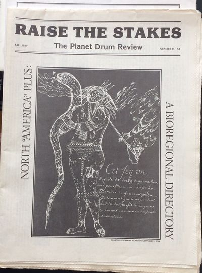 San Francisco: Planet Drum Foundation, 1989. Three issues of the tabloid-format newspaper, on good q...
