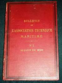 Bulletin de L'Association Technique Maritime (No. 1 - Session de 1890)